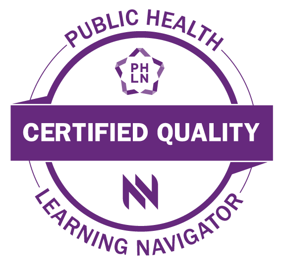 Public Health Learning Navigator Seal